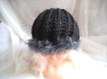 Gorro con lana pelo, 12€
